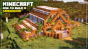 Minecraft | How to Build a Greenhouse Minecraft Blog