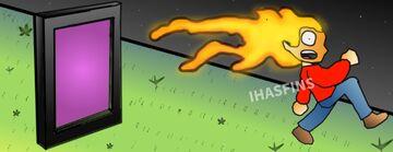 I set Grian on fire. Minecraft Blog