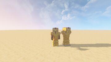 "sneak peek at ""swole gold"" coming soon™ Minecraft Blog"