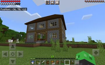 The house is done!. Minecraft Blog