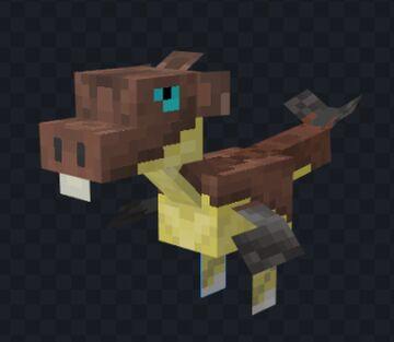 [Blockbench] The Bango Raptor Minecraft Blog