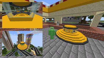 Flying Saucer Model Minecraft Blog