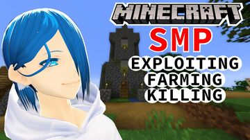 🔴Minecraft   SMP】lots of FARMING, KILLING and EXPLOITING in this HermitCraft like SMP Minecraft Blog