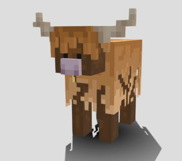 Highland Cow Minecraft Blog