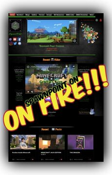 SpawnPoint is on FIRE!!! Minecraft Blog