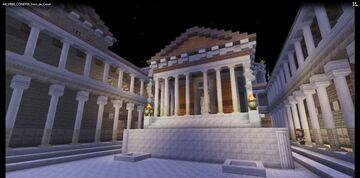 AB VRBE CONDITA - Visita virtual al Foro de César Minecraft Blog