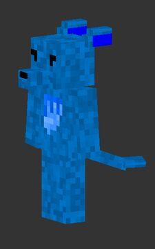 My skin in 3D Minecraft Blog