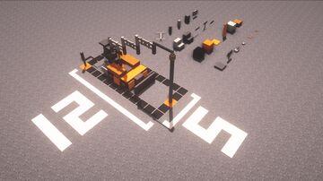 Small drill machine car Minecraft Blog
