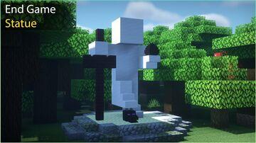 ⛏️ End Game Statue In Minecraft 🏡 Minecraft Blog
