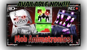 ⛏MOB ANIMATRONICS! Minecraft Blog