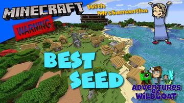 Best Java Minecraft Seed!! Village, Woodland Mansion, Portal and Spawner! (Plus More!) Minecraft Blog