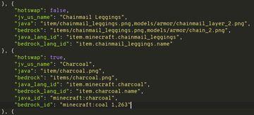 JSON List of All Textures, Items, Mobs, Blocks, etc Minecraft Blog