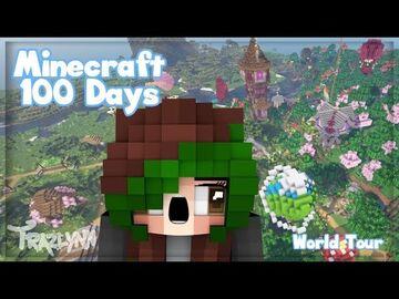 I Spent 100 IRL Days In Minecraft - Minecraft 1.17 World Tour (No Commentary) Minecraft Blog