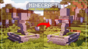 ✧ Minecraft | HOW TO BUILD STATUES FOR YOUR SURVIVAL ✧ Minecraft Blog