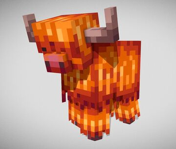 Highland cow model Minecraft Blog