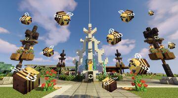 Busy Bee, Buzzy Bee, Happy Little Bee Minecraft Blog