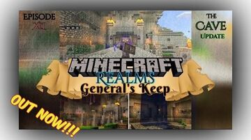 """OUT NOW!!! - THE CAVE UPDATE """"General's Keep"""" (XLI) Minecraft Blog"""