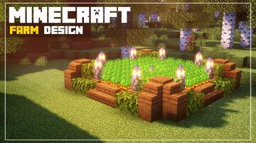 Minecraft | Farm Design Minecraft Blog