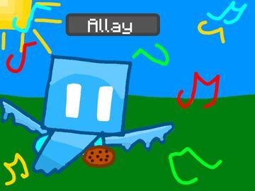 Allay Drawing Minecraft Blog
