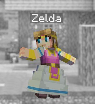 Super Smash Bros. Ultimate in Minecraft - 17 Zelda Minecraft Blog