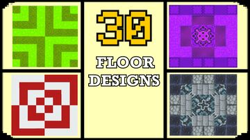 Minecraft: 30 Floor Design Ideas Minecraft Blog