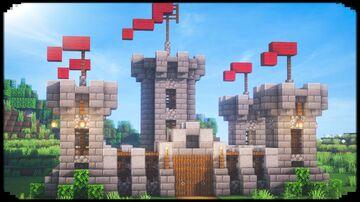 Small Castle Minecraft Blog