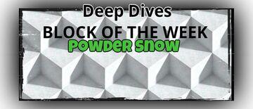 ⛏Deep Dives - BLOCK OF THE WEEK: POWDER SNOW Minecraft Blog