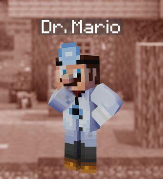 Super Smash Bros. Ultimate in Minecraft - 18 Dr. Mario Minecraft Blog