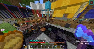 Illegal villager madness at spawn on the PMC SMP Minecraft Blog