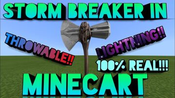 Storm breaker in Minecraft! Minecraft Blog