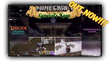 "OUT NOW!!! COMMUNICATION CENTER ""General's Keep"" (Episode XXXIII) - A Minecraft Realms Adventure [Bedrock] Minecraft Blog"