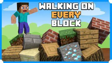 Walking On Every Block In Minecraft Bedrock Edition Minecraft Blog