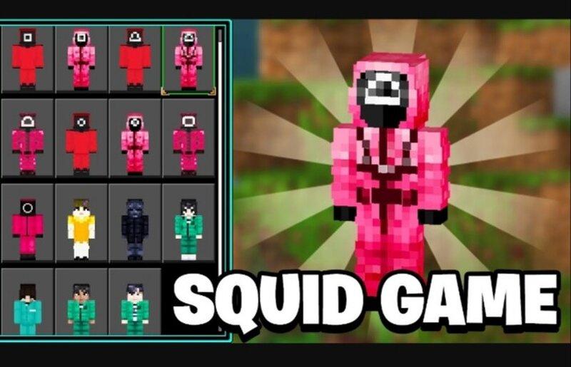 Minecraft squid game