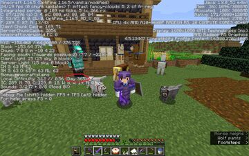 just got to one in-game year on my survival world Minecraft Blog