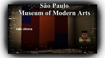 São Paulo Museum of Modern Art Opens Its Virtual Doors in Minecraft Minecraft Blog