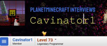 Planet Minecraft Interviews Cavinator1 Minecraft Blog
