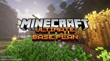 Minecraft : Ultimate Base Plan Minecraft Blog