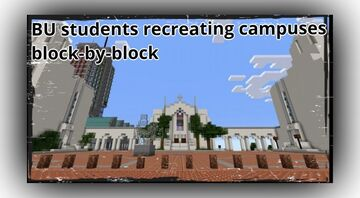 BU students recreating the University's campuses block-by-block in Minecraft Minecraft Blog