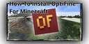 How to Install OptiFine for Minecraft Minecraft Blog
