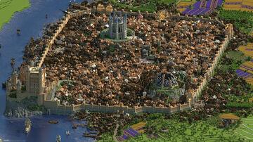 Chunky Render: Game of Thrones - King's Landing Minecraft Blog
