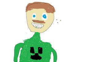self portrait Minecraft Blog