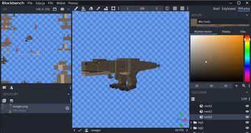 A t-rex ravager Minecraft Blog