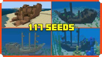CRAZY Shipwrecks Seed Minecraft Bedrock 1.17 Minecraft Blog