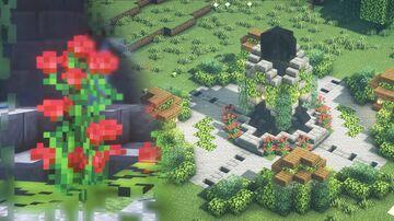 Minecraft | Fountain Idea | How to Build A Fountain Tutorial Minecraft Blog