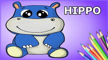 How to draw a HIPPO Minecraft Blog