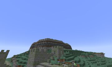 Ruins on the Cliff Minecraft Blog