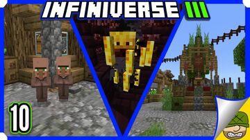 Blaze, Brewing, And Babies | 10 | Minecraft Infiniverse S3 Minecraft Blog