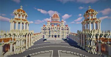 Remake de la Basilique StPierre à ma façon Minecraft Blog