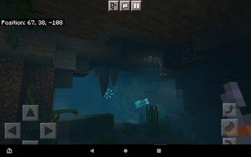 Glowsquid in its natural habitat. Minecraft Blog