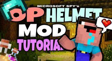 How to make Minecraft Mod (Pe/Bedrock) | OP Helmet Mod | Tutorial Minecraft Blog